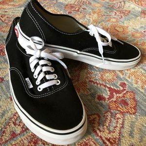 Black Classic Vans